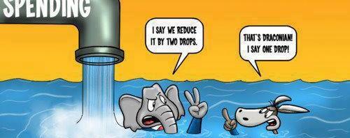 democrat vs republican debt