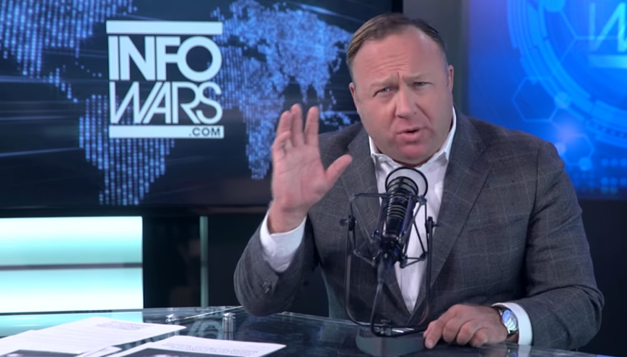alex jones fake news infowars